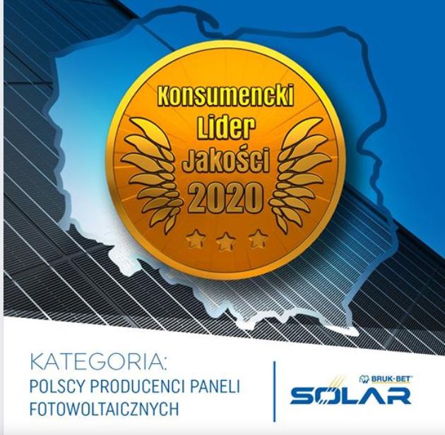 Bruk-Bet Solar Lider Jakości 2020